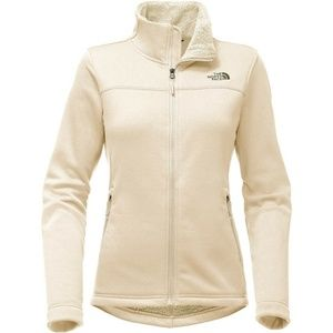 The North Face Timber Fleece Full Zip Vintage Whit
